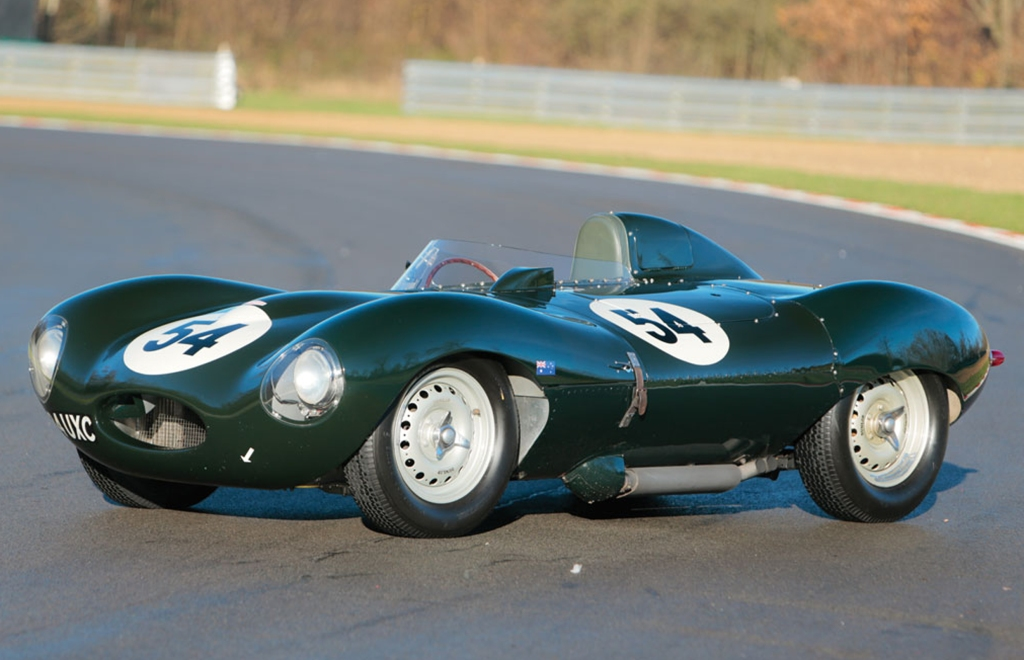 H Jag D-Type, Chassis XKD 520 του 1955