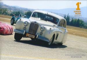 Η Jaguar Mk VII του 1953 στο 1ο Circuit Τατόϊ ΦΙΛΠΑ το 2012