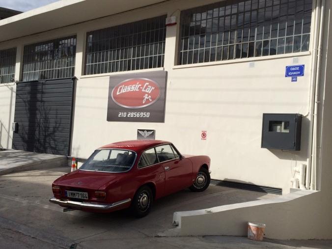 Μια κλασική Alfa-Romeo μας επισκέφτηκε πρόσφατα