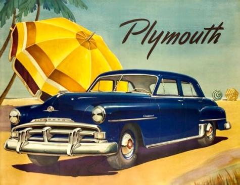 Η Plymouth ήταν ένα επιβλητικό για την εποχή των 50's-60's στην Ελλάδα