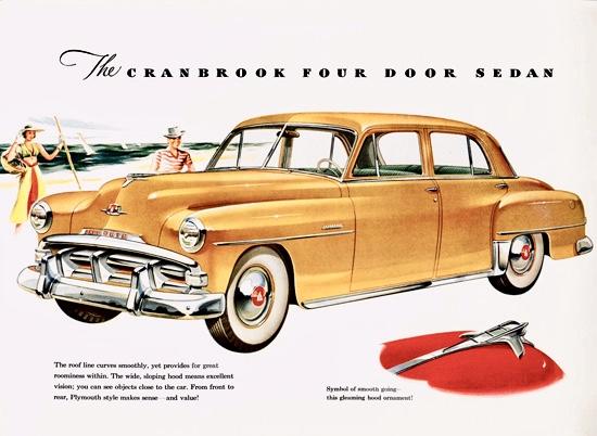 Η τετράπορτη Plymouth Cranbrook του 1952