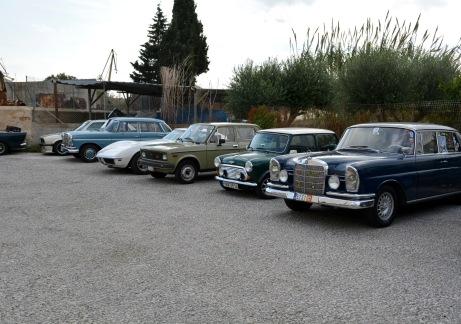 Στο Parking του Βιομηχανικού Μουσείου Σύρου