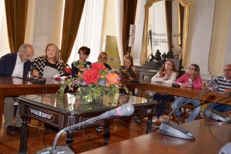 Επίσκεψη στο Δημαρχείο Σύρου