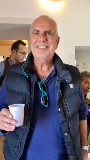Ο έταιρος Συνδιοργανωτής μας, ο Ιταλόφωνος Πέτρος Ματσούκης