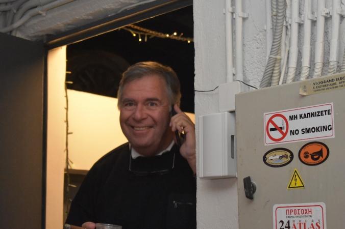 Ο Captain ήταν τηλεφωνικότατος!